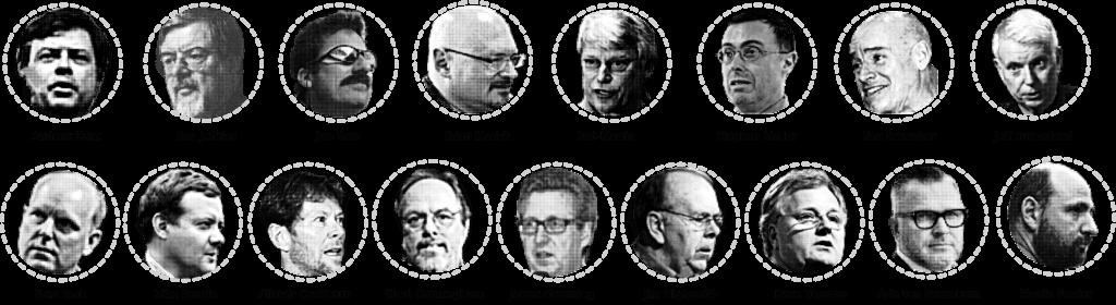 Die 17 Autoren des Agilen Manifest