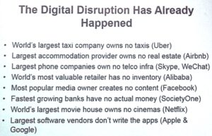 Sandy Carter (@sandy_carter): The Digital Disruption has already happened