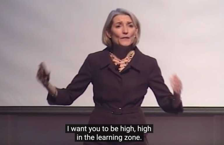Amy Edmondson: »... high, high in the learning zone«