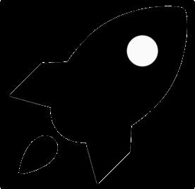 Kompliziert: mit einer Rakete zum Mond fliegen