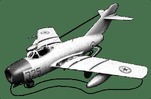 Eine MIG-15