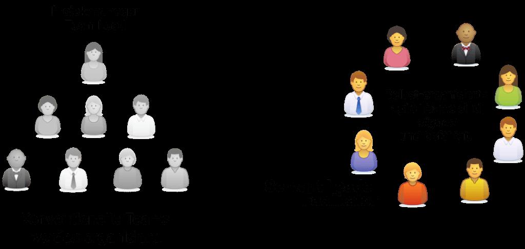 Organisiert werden und servant leadership