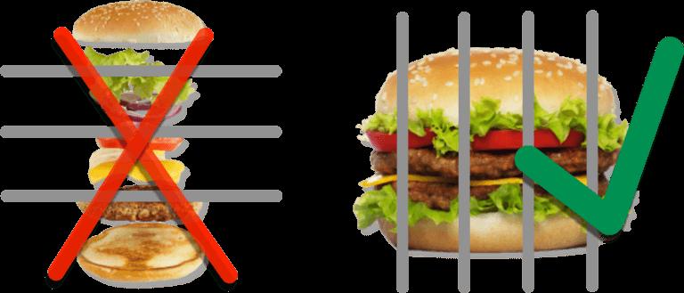 vertikal integrieren: die Hamburger-Metapher